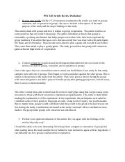 Justin Article Review_Gossip, ostracism, cooperation (1).docx
