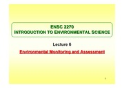 Environmental monitoring (Feb 2014)