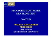 COMP3120_05_Project_Management_Processes_2010