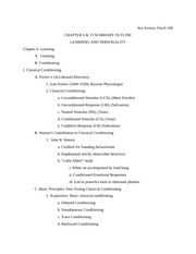 Psyc_Chp_6_and_13_Outline