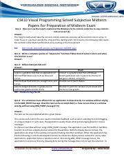 Cs411 Handouts Pdf