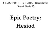 160B1_Day6_Epic_Hesiod_EDIT.ppt