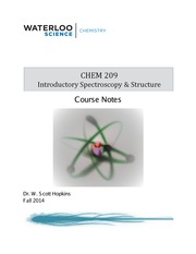 CHEM 209 Course Notes F2014