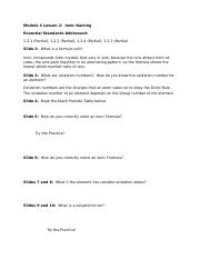 Module 4 Lesson 2 Guided Notes