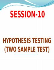 Session-10 Hypothesis Testing -.pptx