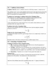 Notes Confidence Intervals Unit 1.pdf