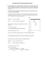 Recitation Worksheet D Solutions