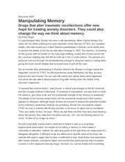 manipulating memory (from Tech Review)