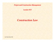 PCM-Lecture13-Construction-Law