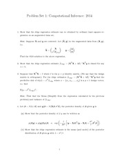 Regularised Linear Model Problem Set Questions