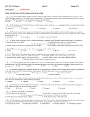 Quiz 3 Hon Spr12 KEY