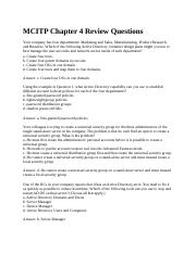 MCITP Chapter 4 Review Questions.docx