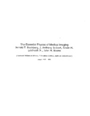 6. The Essential Physics of Medical Imaging