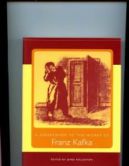 James Rolleston - A Companion to the Works of Franz Kafka (Studies in German Literature Linguistics