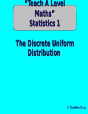 17-the-discrete-uniform-distribution.ppt