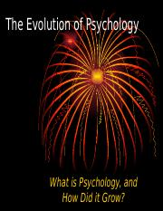 ACORN - Chapter 1 - The Evolution of Psychology