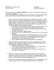 PHIL3313 Final exam questions