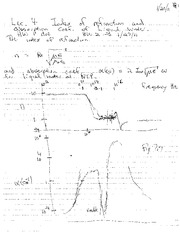 Lecture Notes D on Electricity and Magnetism