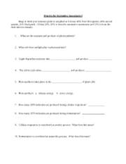 Practice For Formative Assessment 2 Study Guide