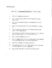 The Gray Zone Guided Reading Questions