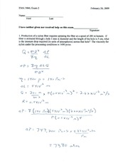 exam 2 solutions spring _09