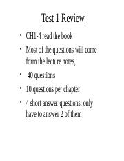 5 Test 1 Review.ppt