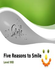 Smiling- 99D.ppt