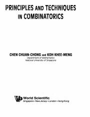 Principles and Techniques in Combinatorics - Chen Chuan-Chong, Koh Khee-Meng (WS, 1992).pdf