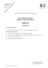 dse paper 3 b2 data file 2012 dse english paper 3 answer mediafire links free download, download 2012 dse english language, english paper 1 answer sabah excel set 2 [edu joshuatly com], english paper 2 answer sabah.