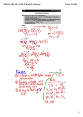 EQUATIONS W: Fractions
