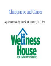 Chiropractic_and_Cancer.ppt