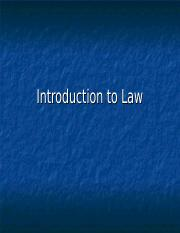 Introduction to Law Presentation.ppt