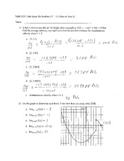 Section 2.1-3.3 Assignment Answers