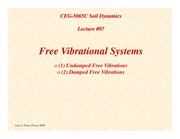 SD-Lecture07-Free-Vibrational-Systems