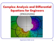 ENGG2420Complex Analysis_C1 C2 (Presentation Version)