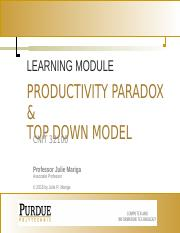 Top Down Model(1).pptx