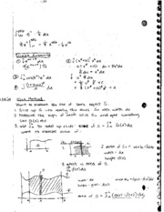 Definite Integral and Slice method Notes