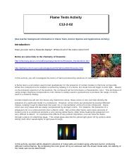 Flame Tests Activity C12-2-02.doc