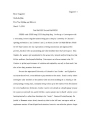 Critical Review Essay (Jazz)