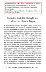 05Impact of Buddhist Thought and Culture on Chinese People
