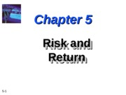 Lecture 2 - Risk and Return - NR