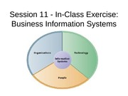 Session 11 - Business Information Systems In-Class Exercise