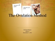 The Ovulation Method slideshow