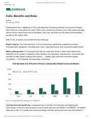 Collateralized loan obligations (CLOs)_ Benefits and Risks.pdf