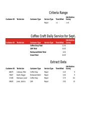 Coffee Craft Daily Service with Subtotals.xlsx
