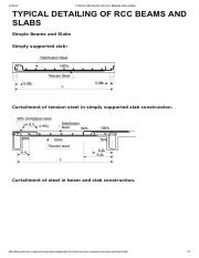 TYPICAL DETAILING OF RCC BEAMS AND SLABS.pdf