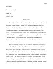English 268 reading journal 1