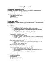 Class Notes for CSC290 - Business Communication Chapter 9