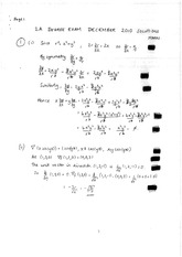 Answers to Linear Algebra Degree Exam 2010 (solutions)