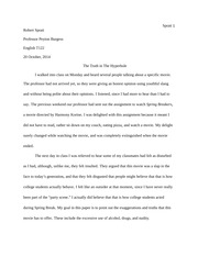 Spring Breakers Essay Draft #1